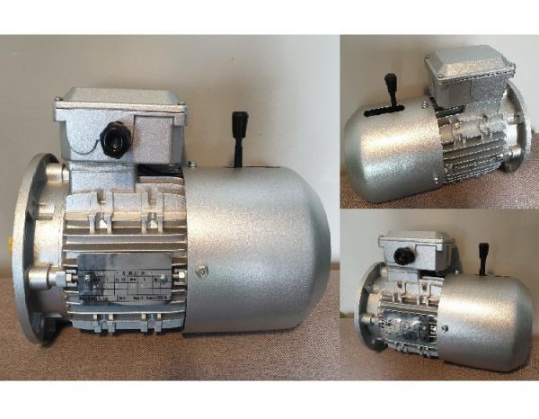 Трехфазный электродвигатель со встроенным электромагнитным тормозом