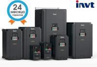 Преобразователь частоты INVT 0,75 кВт вх. 3ф/380В вых. 3ф/380В GD200A-0R7G-4 для трехфазный электродвигателей